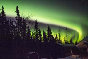 Northern Lights above my house.  Malatek 8-4