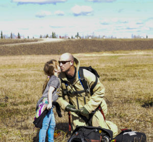 """""""Smokejumping is a very thrilling and high risk profession.  It is also very time consuming, an emphasis is always made to keep our priorities in proper perspective.  Randy's daughter, Isabella enjoys time with Dad at Work."""""""